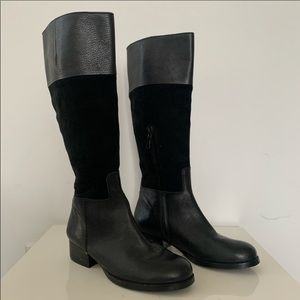 Max Studio leather & suede boots size 5.5